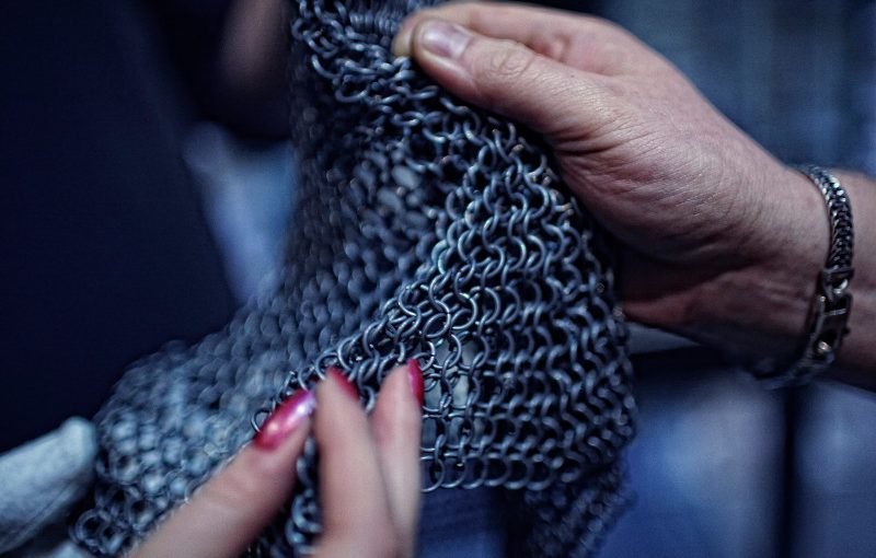 Making Chainmail Workshop April 19th @ NESIT Middletown