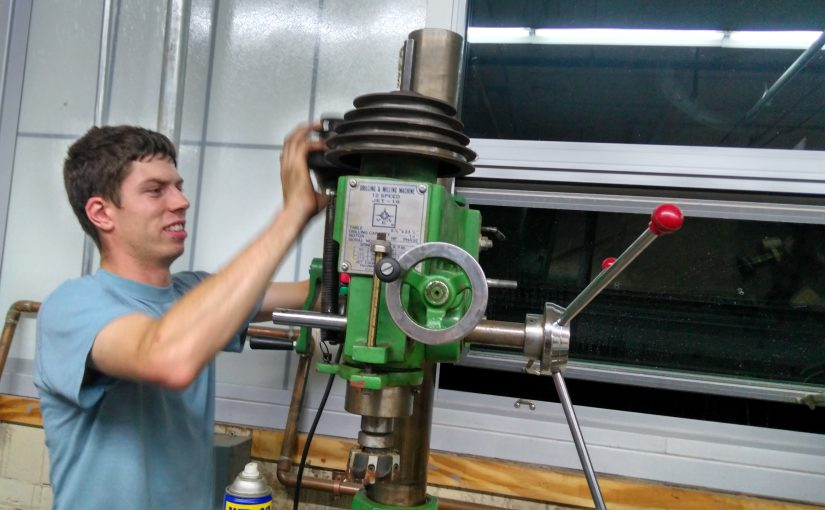 NESIT Metalwork Shop Gets a Mill